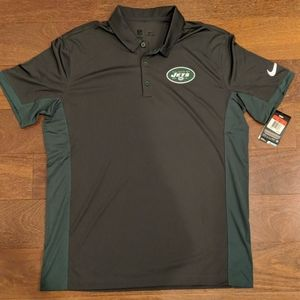 New York Jets Nike Dri-Fit Polo NFL